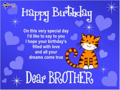 The 33 all time best birthday wishes for brother birthday greetings for brother m4hsunfo Images