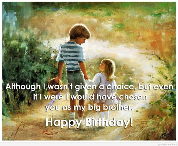happy birthday brother messages