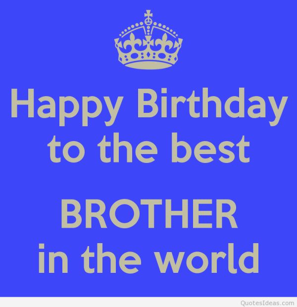 Happy Birthday My Brother Sms