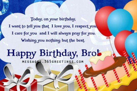 happy birthday wishes for brothe