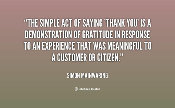 quotes for appreciation