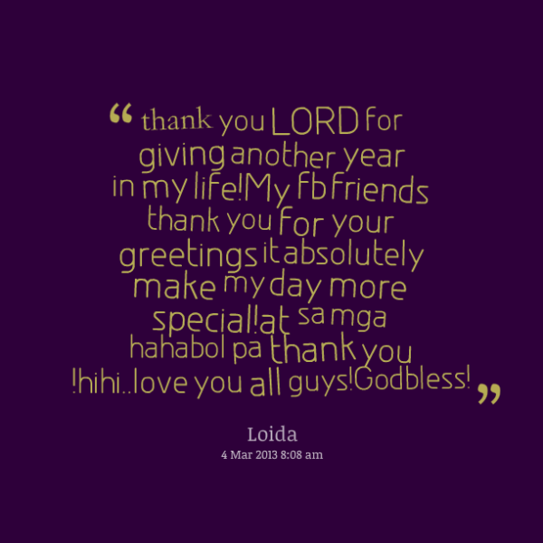 quotes of thank you