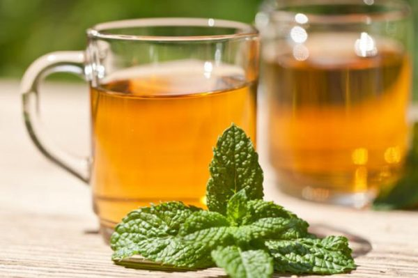 Peppermint Tea is effective weight loss tea
