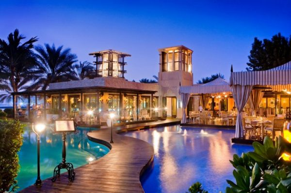 Rooftop Terrace and Sports Lounge, One&Only Royal Mirage, Dubai