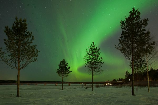 northern-lights-sweden - best European holiday destinations