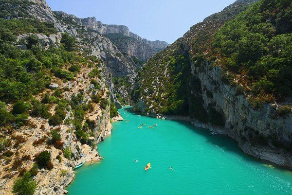best European holiday destinations - verdon-gorge-france