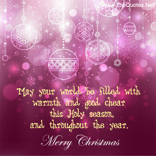 Christmas Quotes For Cards: The 45 Best Inspirational Merry Christmas Quotes Of All