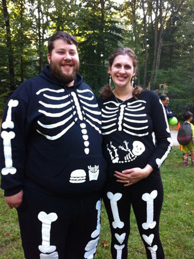 pregnant-skeleton-costume