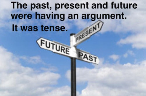 Puns About Time Travel