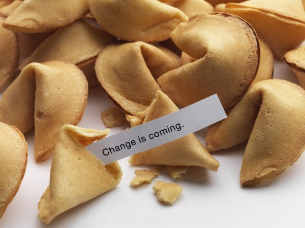 Fortune cookies are a Chinese tradition