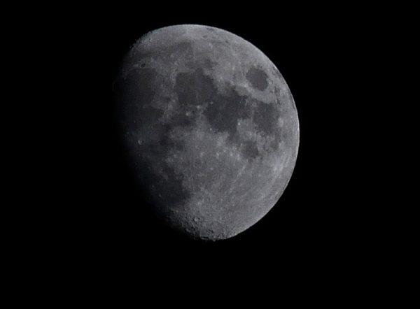 The moon has a dark side