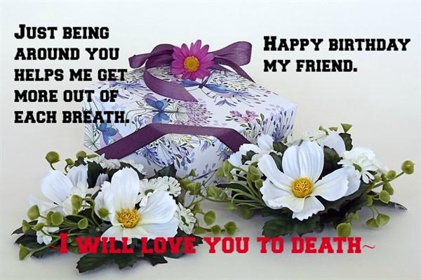 best friend birthday message