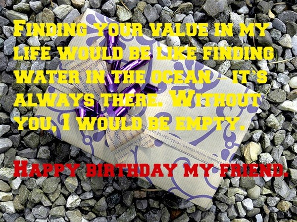 birthday message to best friend