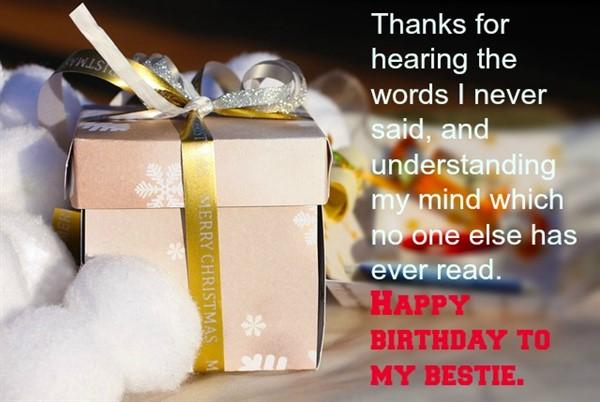 birthday message to friend