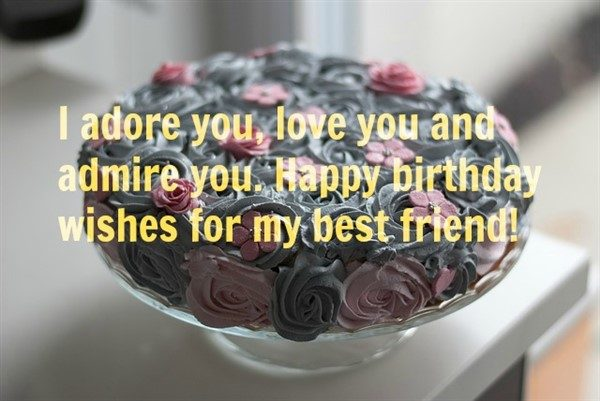 birthday wishes for my friend