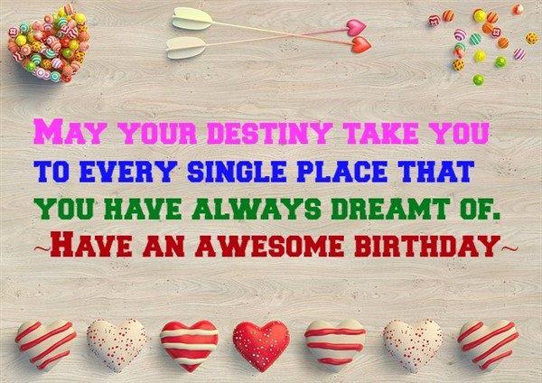 birthday wishes to friend
