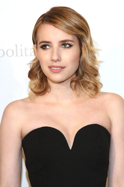 emma roberts sexy brown hair