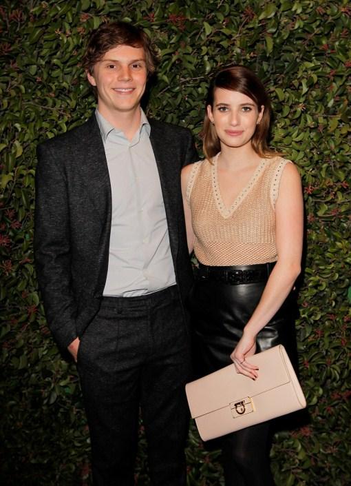 emma roberts with boyfriend