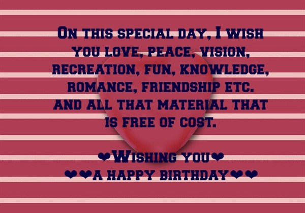 happy birthday message for a friend