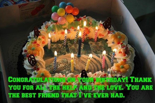 happy birthday message to friend