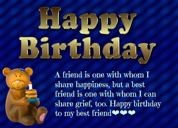happy birthday wishes for a friend