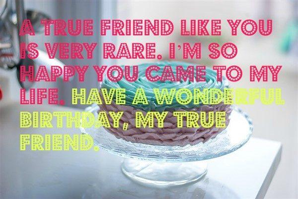 wish happy birthday to friend