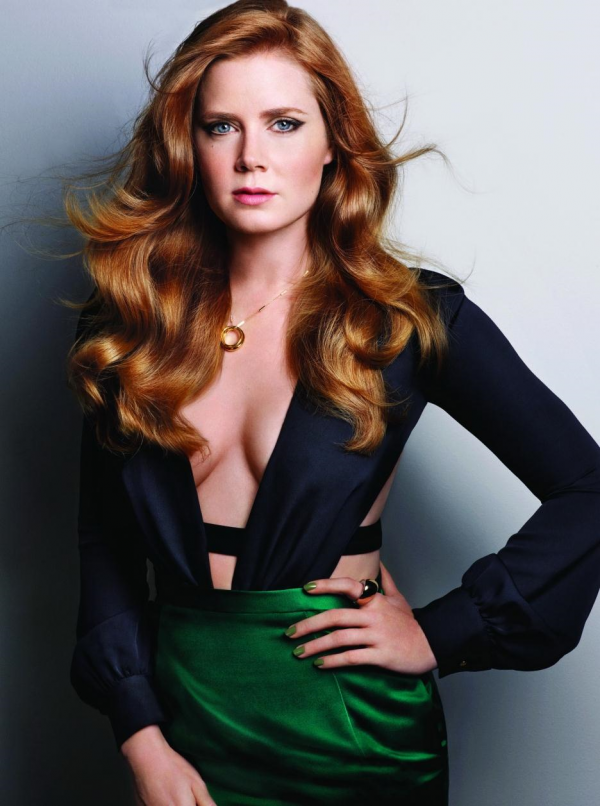 Amy Adams cleavage look