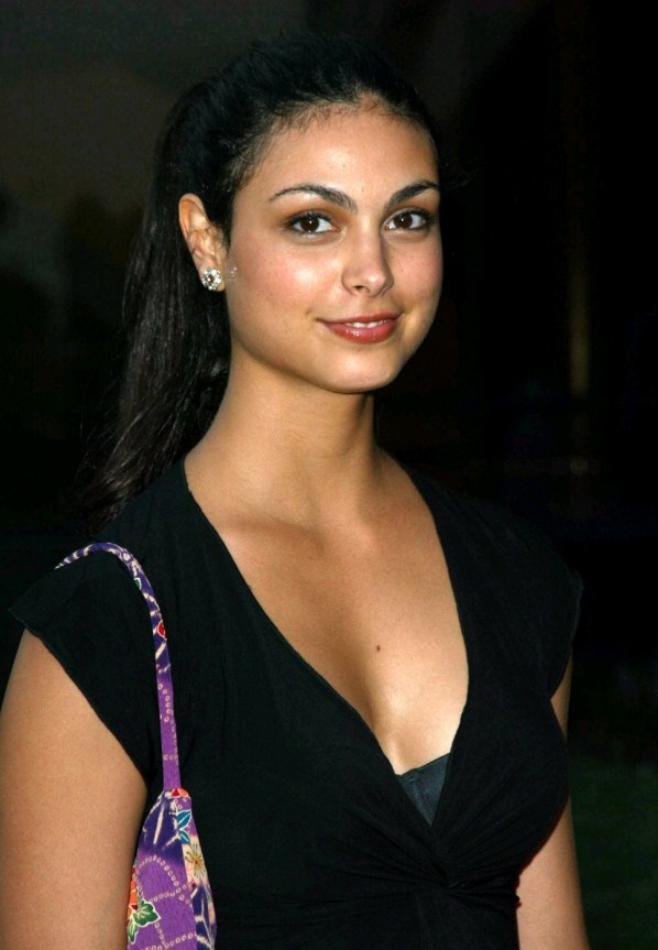 Morena Baccarin black dress