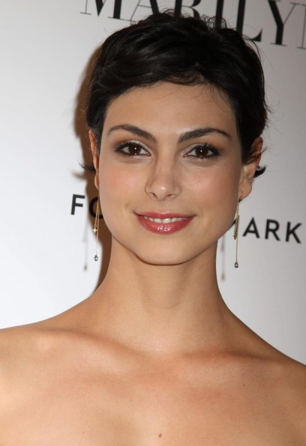 Morena Baccarin makeup look