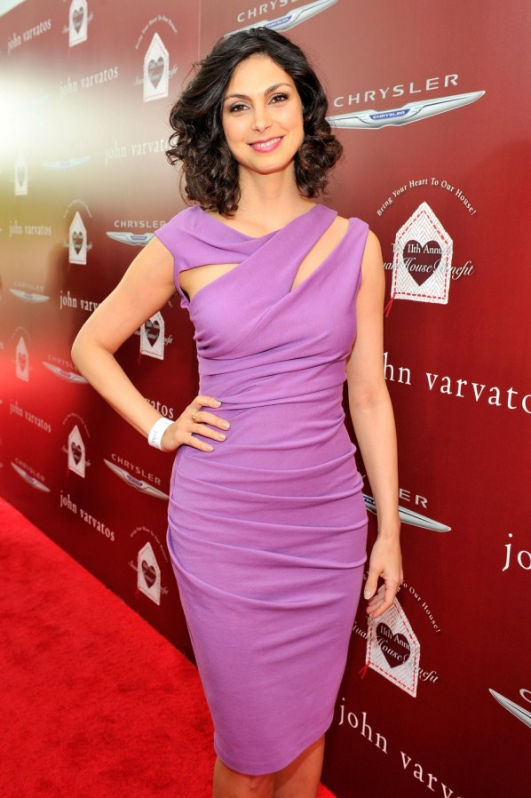 Morena Baccarin red carpet dress