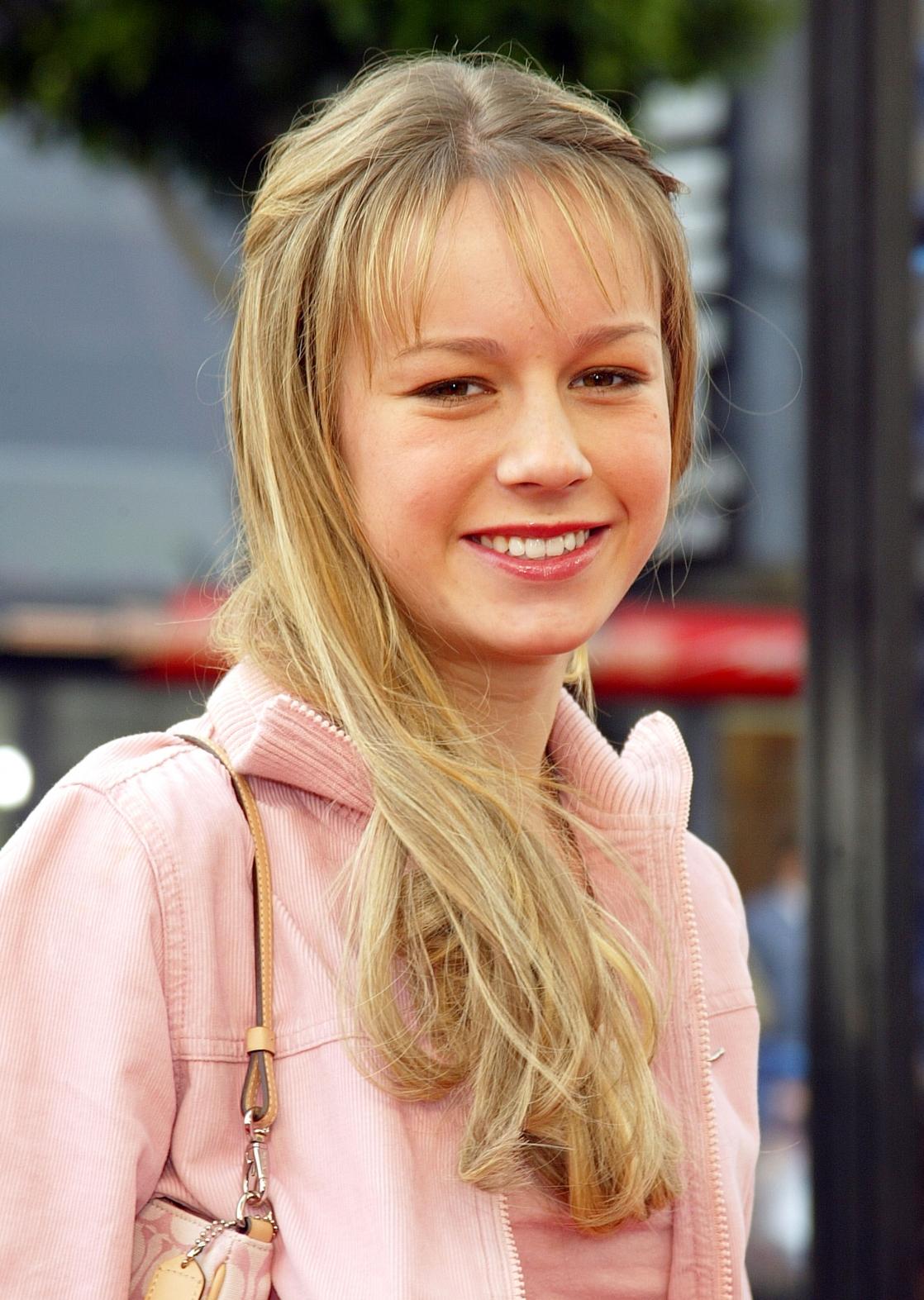 brie larson when she was teen