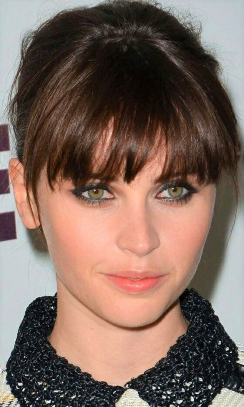 felicity jones eyes color