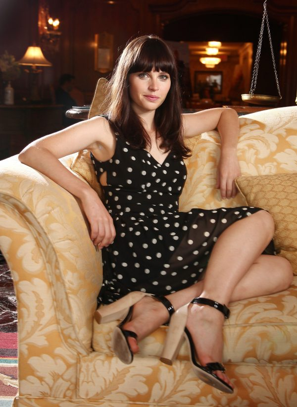 felicity jones feet and legs