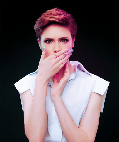 karen gillan short hair photos